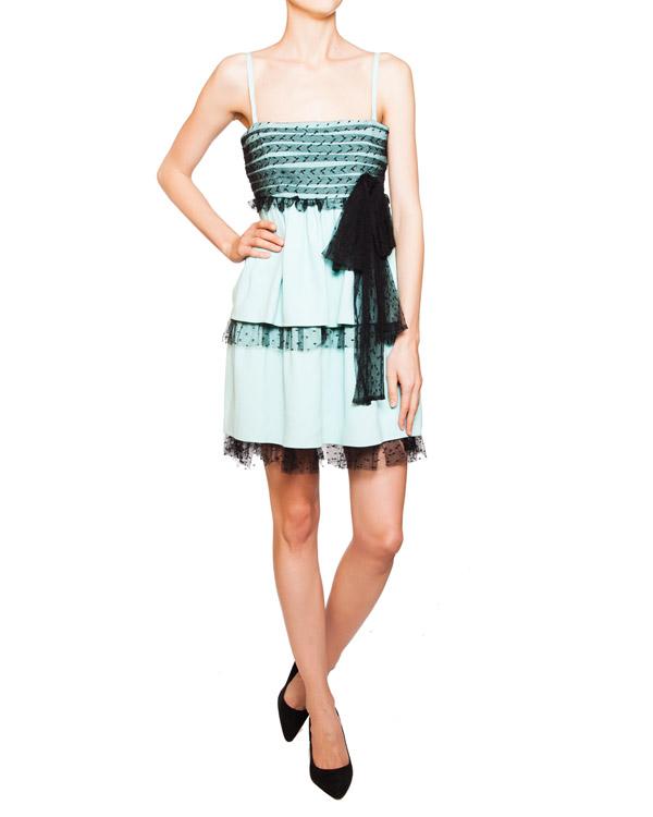 женская платье Valentino Red, сезон: зима 2011/12. Купить за 14900 руб. | Фото 2