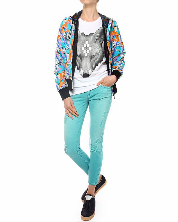 женская куртка Marcelo Burlon, сезон: лето 2014. Купить за 14500 руб. | Фото 3