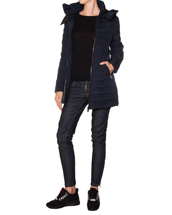 женская куртка ARMANI JEANS, сезон: зима 2015/16. Купить за 11200 руб. | Фото 3