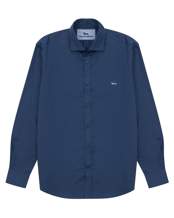 рубашка классического кроя из хлопка артикул C0290 марки Harmont & Blaine купить за 12000 руб.