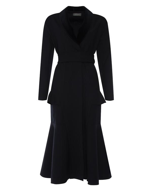 пальто приталенного силуэта из мягкой шерсти артикул C0381501 марки Graviteight купить за 98300 руб.