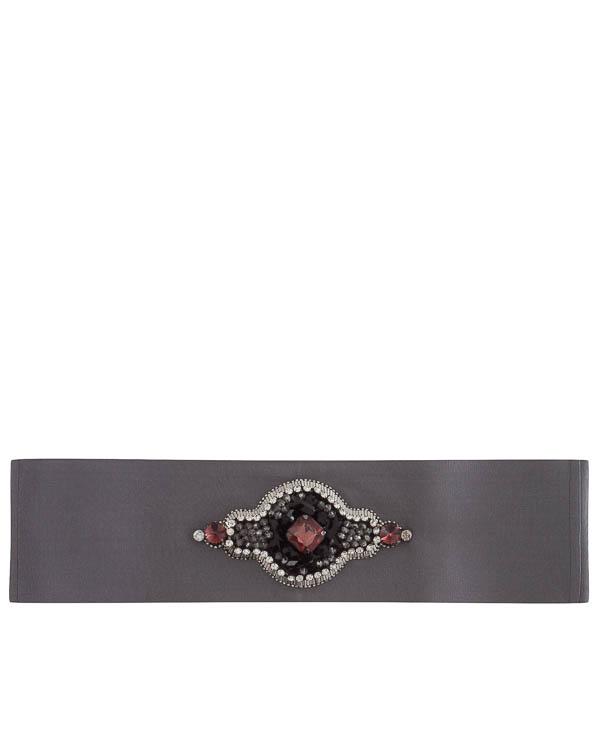 пояс из текстиля с декоративной отделкой артикул C10FW17PO75 марки Sara Roka купить за 14600 руб.