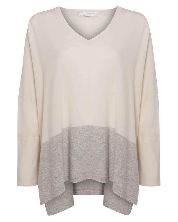 пуловер свободного силуэта из кашемира артикул C1516 марки Amanda Wakeley купить за 34200 руб.