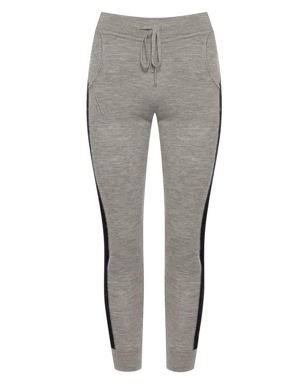 брюки облегающего силуэта из кашемира  артикул C1537 марки Amanda Wakeley купить за 34200 руб.
