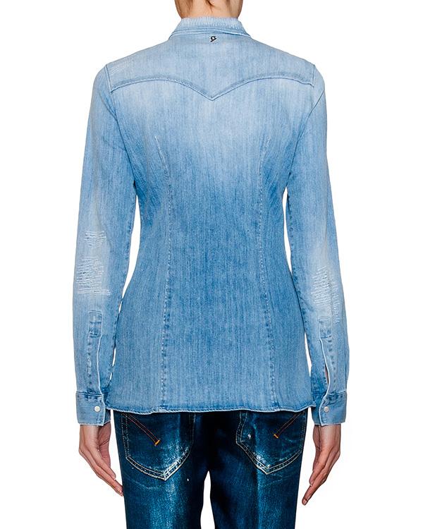 женская рубашка DONDUP, сезон: лето 2016. Купить за 10900 руб. | Фото $i