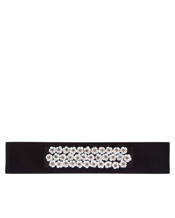 пояс из текстиля с декоративной отделкой артикул C7FW17FL20 марки Sara Roka купить за 12500 руб.