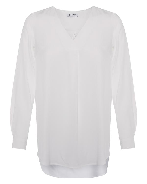 блуза удлиненного силуэта  артикул C924 марки DONDUP купить за 22800 руб.