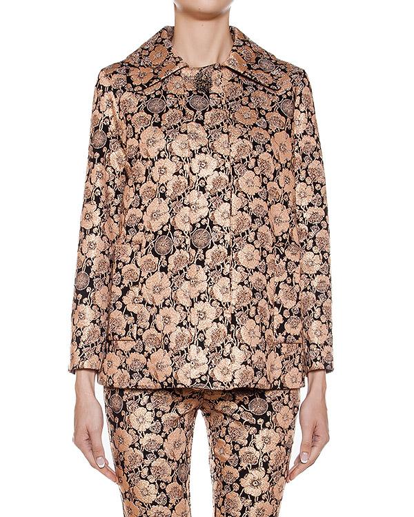 жакет из ткани с цветочными узорами артикул CA6CB0202 марки Simona Corsellini купить за 17000 руб.