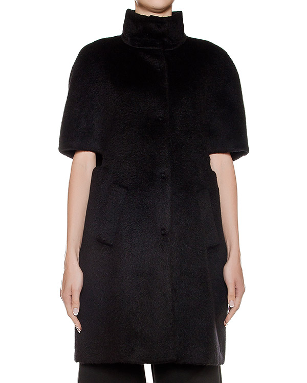 кейп из плотной шерстяной ткани артикул CA6MT0101 марки Simona Corsellini купить за 16900 руб.