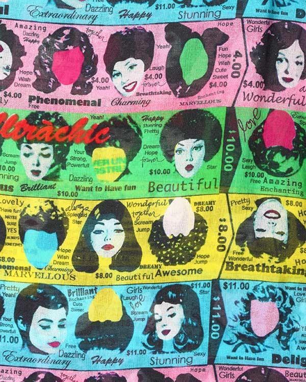 женская рубашка Ultra Chic, сезон: лето 2015. Купить за 12000 руб. | Фото 4