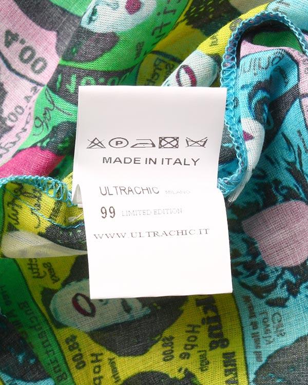 женская рубашка Ultra Chic, сезон: лето 2015. Купить за 12000 руб. | Фото 5