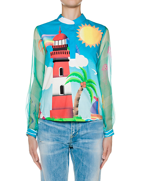 блуза  артикул CAM50FARO марки Ultra Chic купить за 13600 руб.