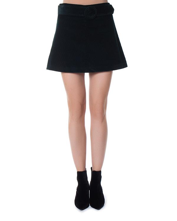 юбка мини из вельвета  артикул CAMDEN630061 марки P.A.R.O.S.H. купить за 15600 руб.