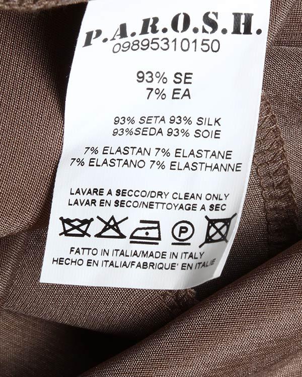 женская платье P.A.R.O.S.H., сезон: лето 2012. Купить за 8500 руб. | Фото 5