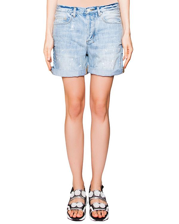шорты из плотного денима артикул CCU153508 марки Cocurata купить за 7600 руб.