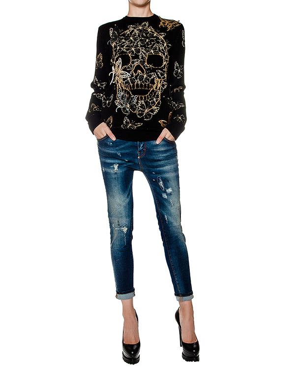 женская джинсы PHILIPP PLEIN, сезон: зима 2016/17. Купить за 25600 руб. | Фото 3