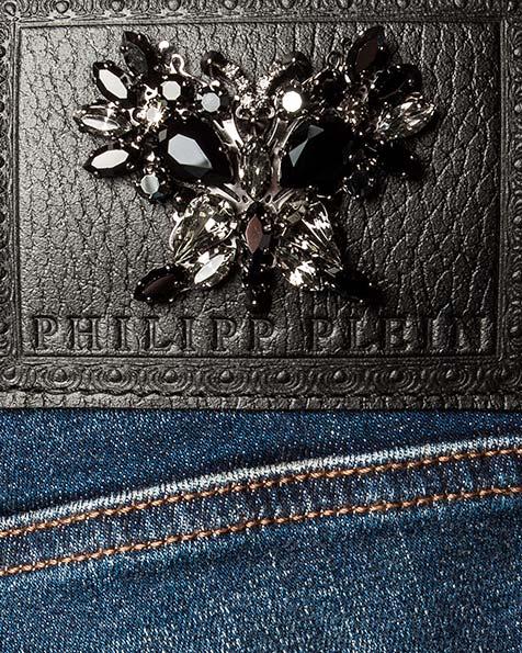 женская джинсы PHILIPP PLEIN, сезон: зима 2016/17. Купить за 51200 руб. | Фото 4