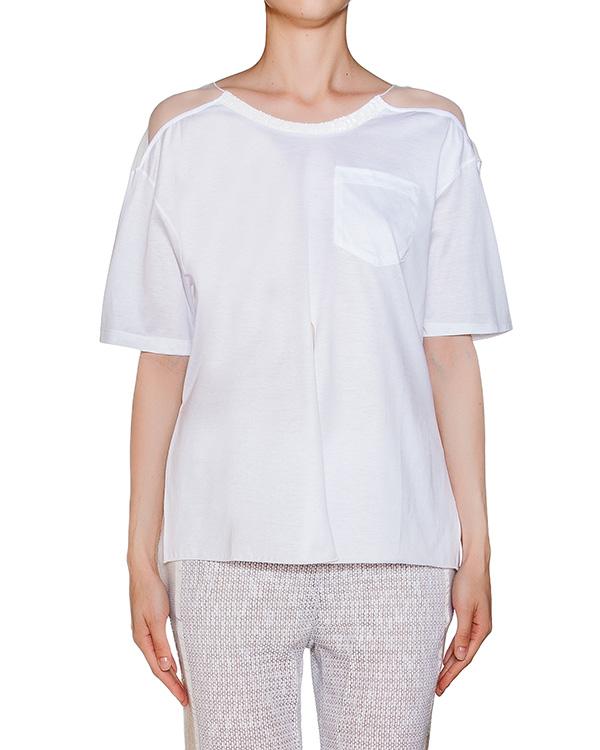 женская футболка AVIU, сезон: лето 2016. Купить за 6400 руб. | Фото 1