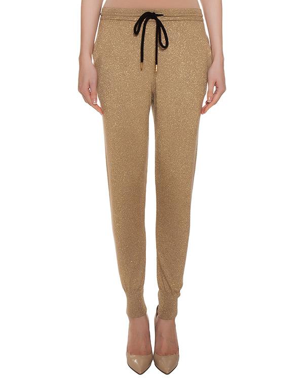 брюки из трикотажа с люрексом артикул CKN011 марки Markus Lupfer купить за 19400 руб.