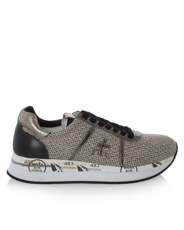 кроссовки Conny из кожи с отделкой текстилем артикул CONNY2596 марки Premiata sport купить за 18200 руб.