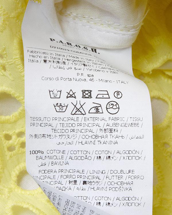 женская шорты P.A.R.O.S.H., сезон: лето 2015. Купить за 8400 руб. | Фото 5