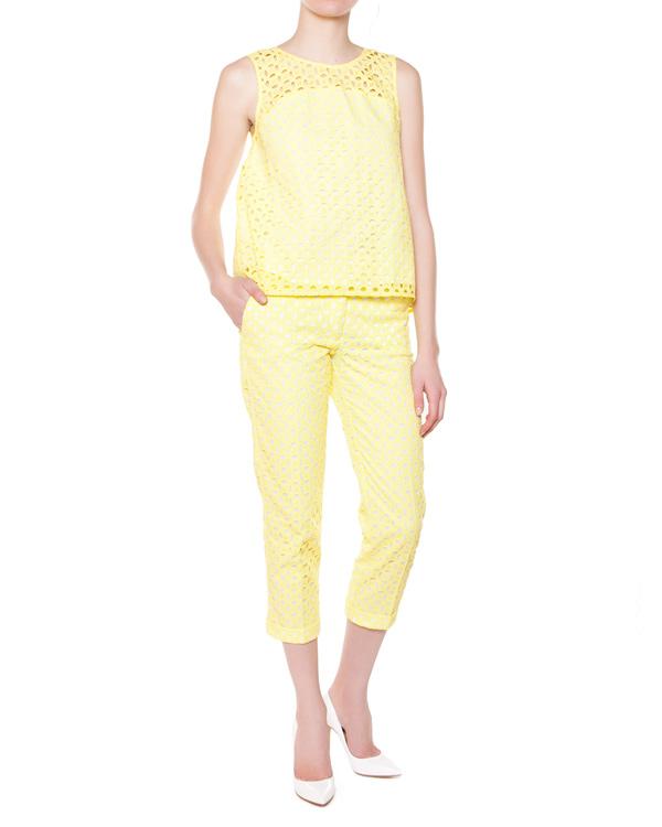 женская брюки P.A.R.O.S.H., сезон: лето 2015. Купить за 9800 руб. | Фото 3