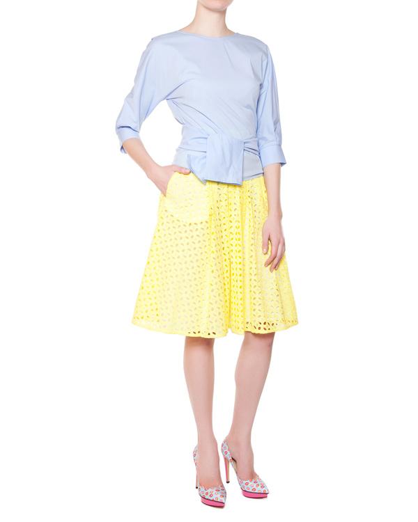 женская юбка P.A.R.O.S.H., сезон: лето 2015. Купить за 12200 руб. | Фото 3