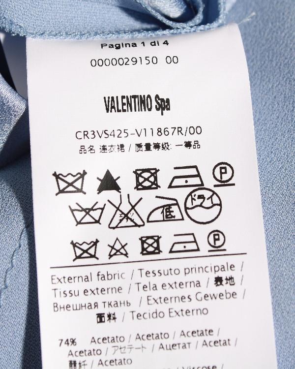 женская платье Valentino Red, сезон: лето 2012. Купить за 11300 руб. | Фото 4