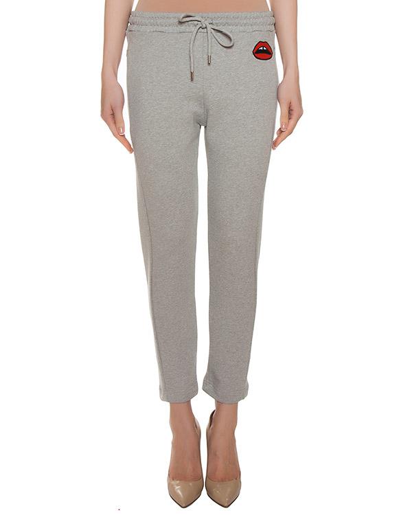 брюки из трикотажа с нашивкой артикул CSW002 марки Markus Lupfer купить за 6500 руб.