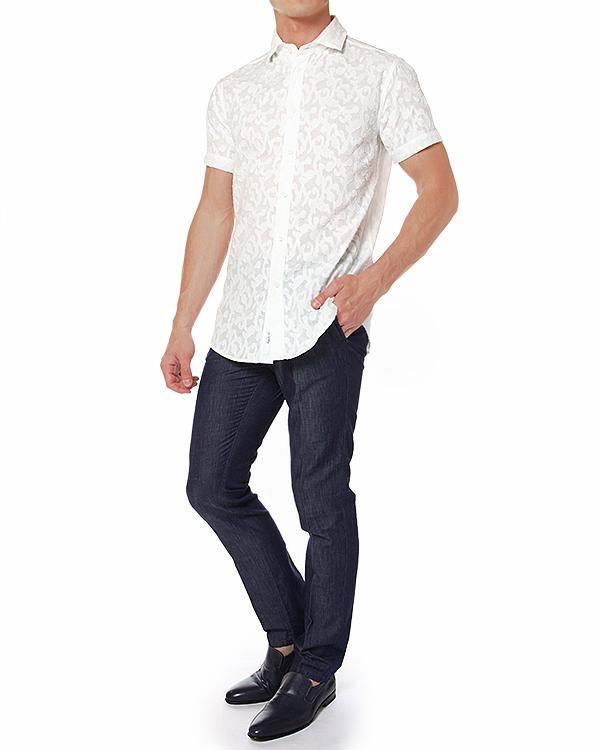 мужская рубашка Cavalli Class, сезон: лето 2014. Купить за 6600 руб. | Фото 3