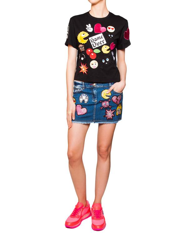 женская футболка PHILIPP PLEIN, сезон: лето 2016. Купить за 22300 руб. | Фото 3