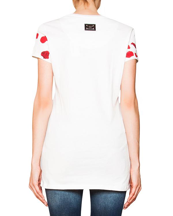 женская футболка PHILIPP PLEIN, сезон: лето 2016. Купить за 15200 руб. | Фото 2