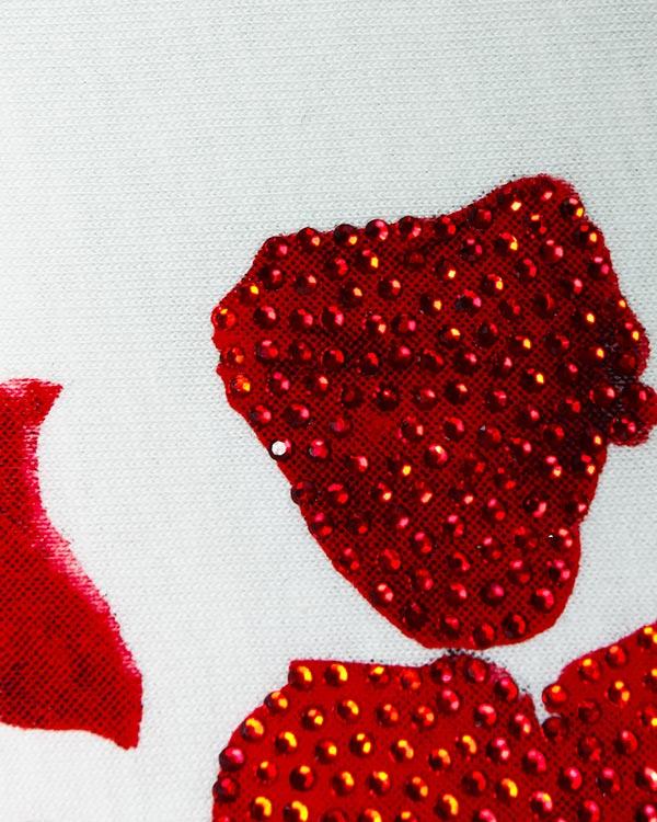 женская футболка PHILIPP PLEIN, сезон: лето 2016. Купить за 15200 руб. | Фото 4
