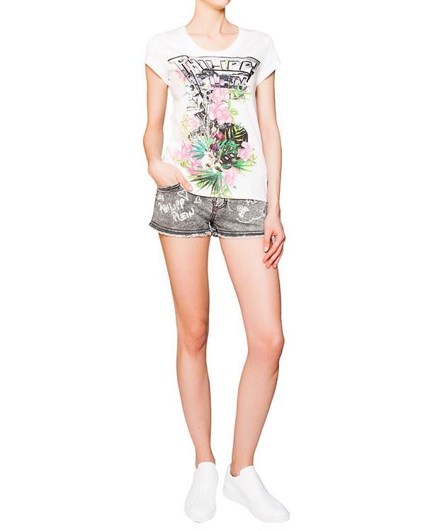 женская футболка PHILIPP PLEIN, сезон: лето 2016. Купить за 11700 руб. | Фото 3