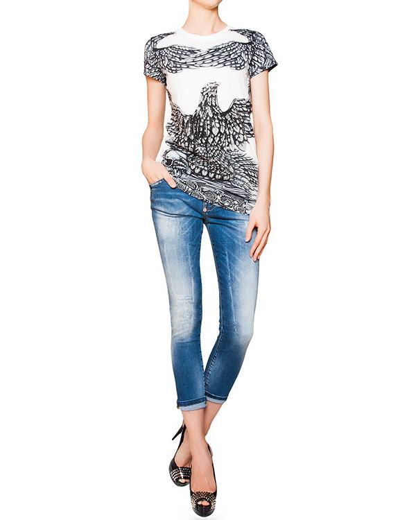женская футболка PHILIPP PLEIN, сезон: лето 2016. Купить за 19300 руб. | Фото 3