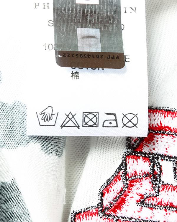 женская футболка PHILIPP PLEIN, сезон: лето 2016. Купить за 19300 руб. | Фото 5