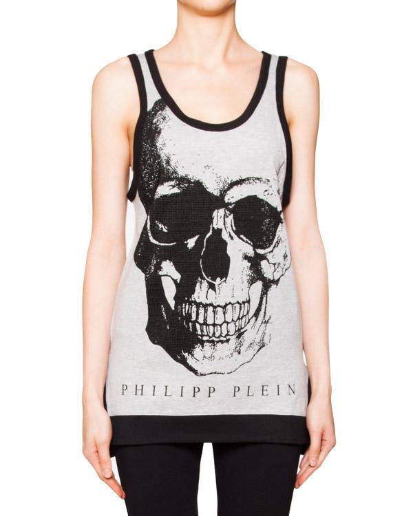 женская футболка PHILIPP PLEIN, сезон: лето 2016. Купить за 14700 руб. | Фото 1