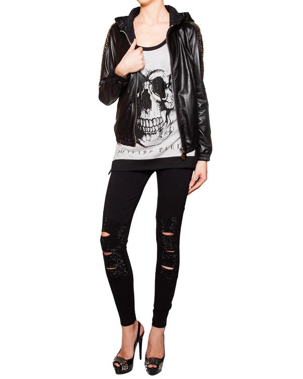 женская футболка PHILIPP PLEIN, сезон: лето 2016. Купить за 13200 руб. | Фото 3