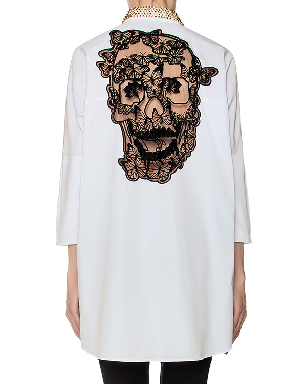 женская рубашка PHILIPP PLEIN, сезон: зима 2016/17. Купить за 55600 руб. | Фото 2