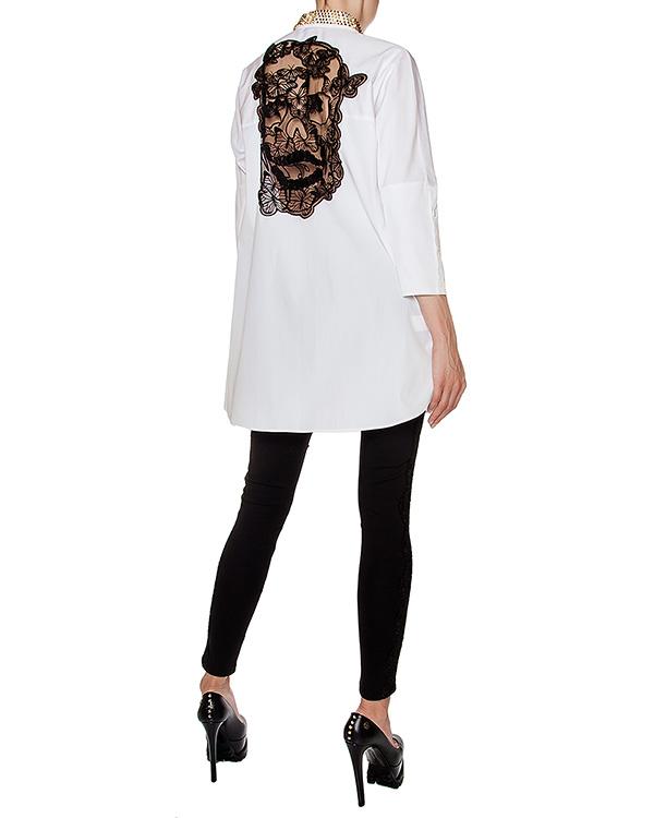 женская рубашка PHILIPP PLEIN, сезон: зима 2016/17. Купить за 55600 руб. | Фото 3