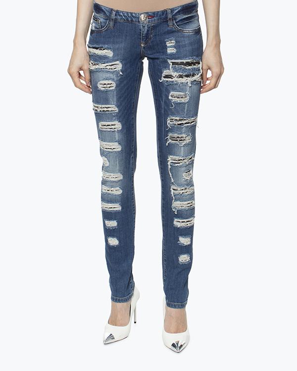 женская джинсы PHILIPP PLEIN, сезон: лето 2016. Купить за 41600 руб. | Фото 3