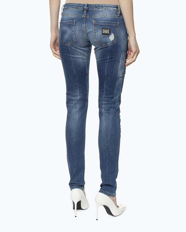 женская джинсы PHILIPP PLEIN, сезон: лето 2016. Купить за 41600 руб. | Фото 4