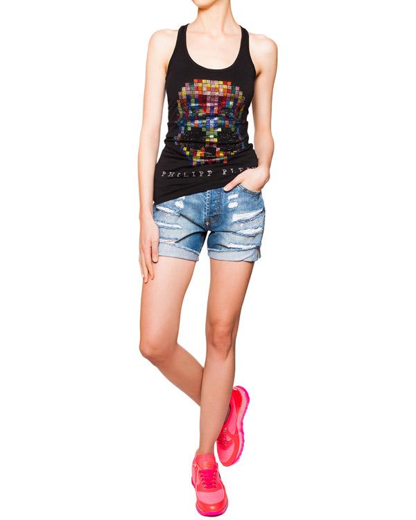 женская шорты PHILIPP PLEIN, сезон: лето 2016. Купить за 26000 руб. | Фото 3