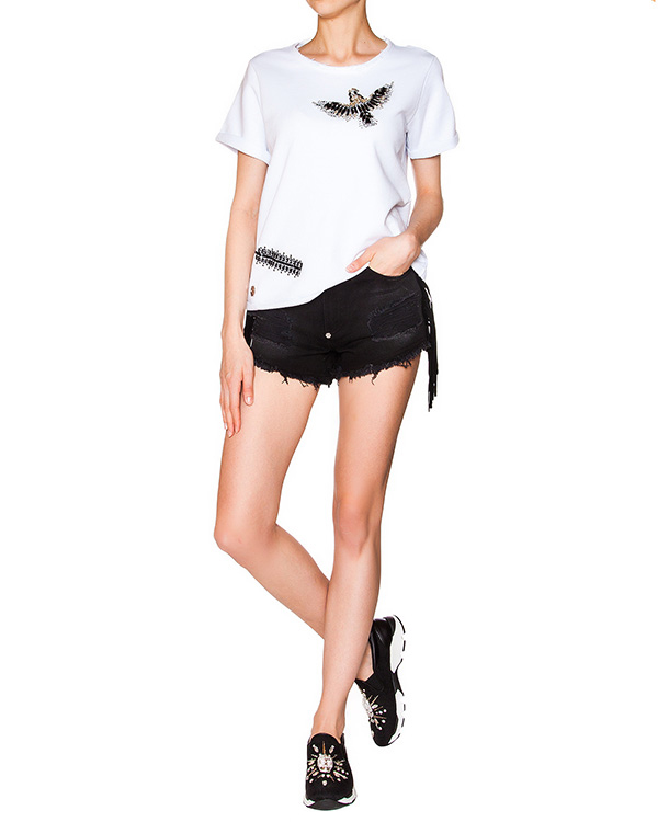 женская шорты PHILIPP PLEIN, сезон: лето 2016. Купить за 24700 руб. | Фото 3