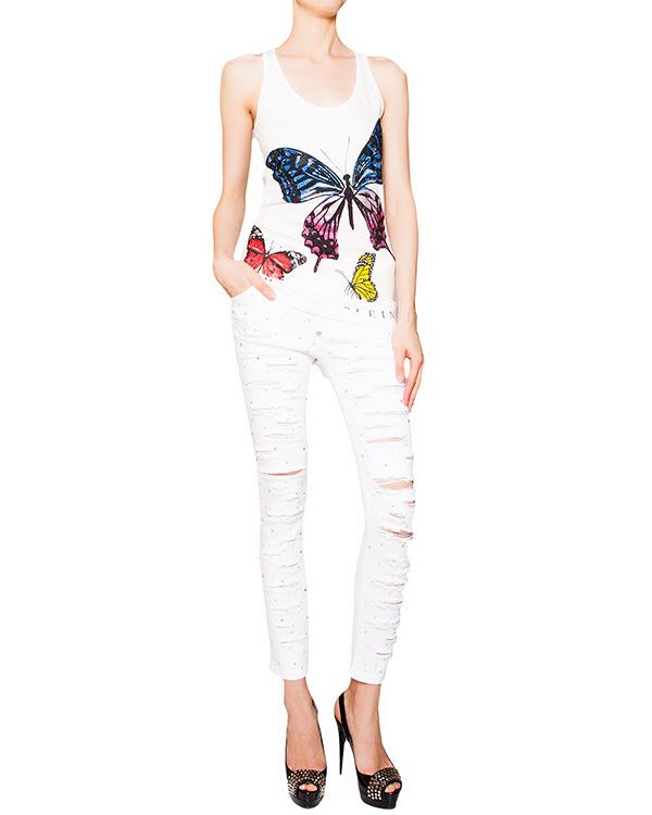женская джинсы PHILIPP PLEIN, сезон: лето 2016. Купить за 34500 руб. | Фото $i