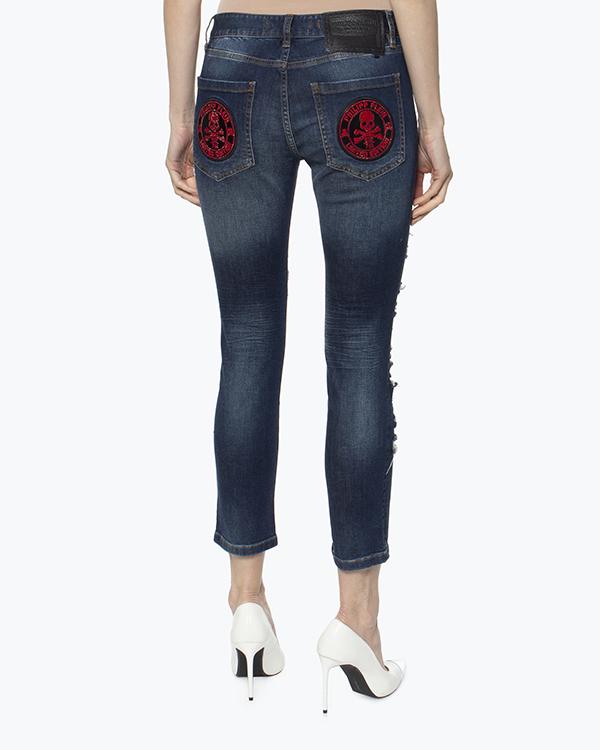 женская джинсы PHILIPP PLEIN, сезон: лето 2016. Купить за 30600 руб. | Фото 4