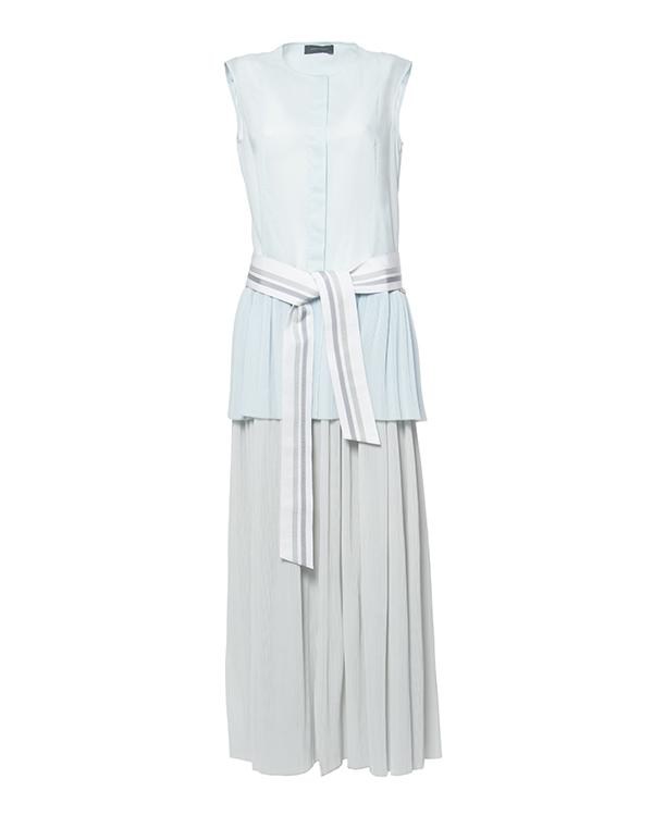 платье многослойное из легкого гофрированного хлопка артикул D0782015 марки Graviteight купить за 31300 руб.