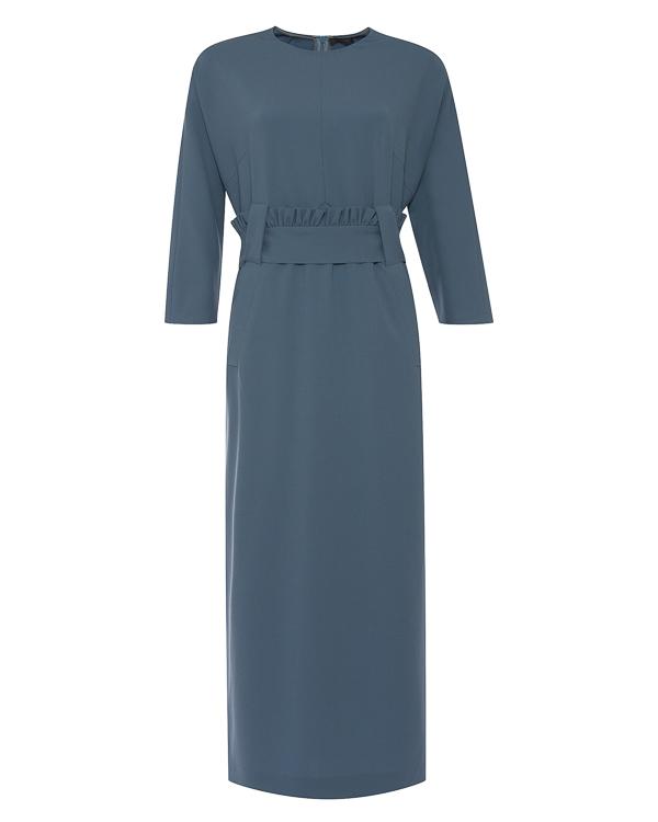 платье миди из тонкой эластичной шерсти артикул D1531550 марки Graviteight купить за 51800 руб.