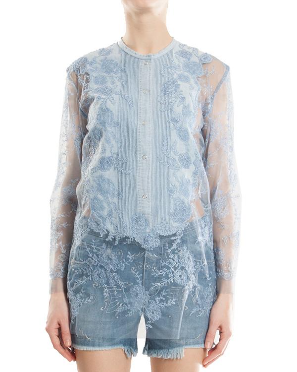 женская блуза ERMANNO SCERVINO, сезон: лето 2013. Купить за 41200 руб.   Фото 1