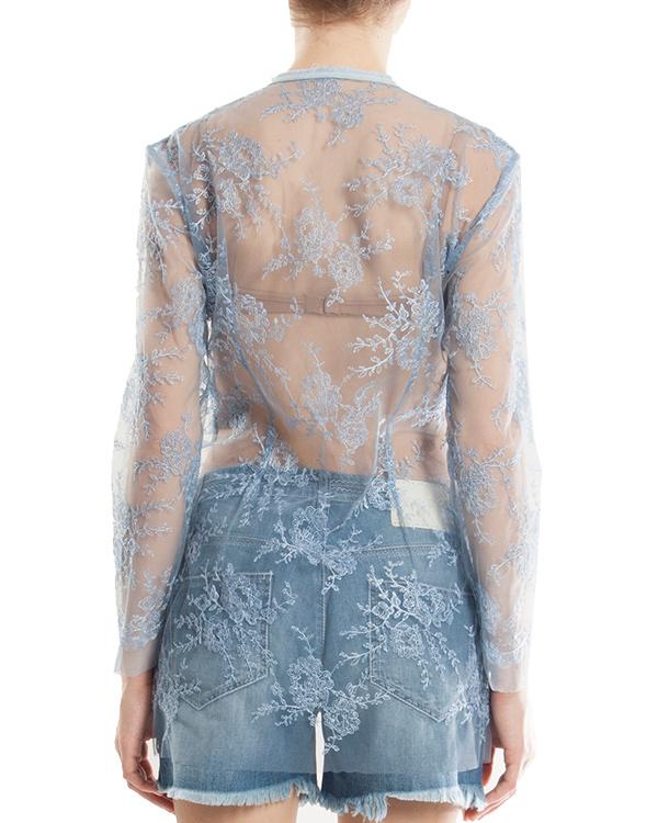 женская блуза ERMANNO SCERVINO, сезон: лето 2013. Купить за 41200 руб.   Фото 3